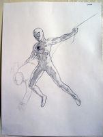 Spider Man drawing by Cissell