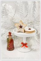 Christmas cookie still by shatinn