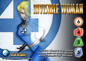Invisible Woman (Susan Richards) Character by overpower-3rd
