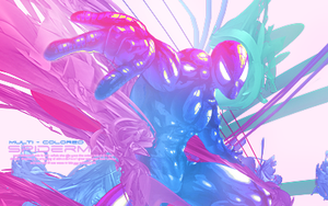 MultiColored Spiderman by Tay-X
