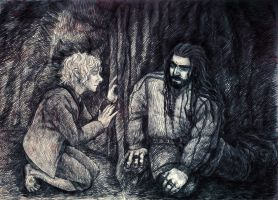 The Hobbit chapter 9 by IrbisN