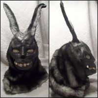 Frank the Bunny, mask by xMonstermakerx