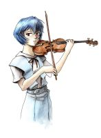 Rei violin by pabloyungblut