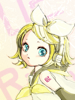 VOCALOID Kagamine Rin by undo-Ando-and