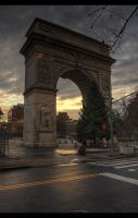 Washington Square Arch by willylorbo