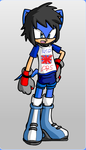 DH Smith as a SOnic Character by Gurahk2