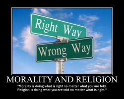 Morality and Religion by fiskefyren