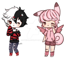 Sketchy Cheebs #2 by Nyxium