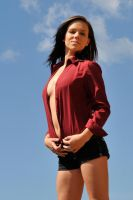 Lauren - red shirt 2 by wildplaces