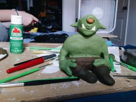 Francis the incense cyclops(goblin, monster) by mindhaus