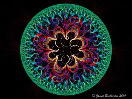 Curly Mandala by jim88bro