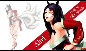 Ahri League of legends by SeoulHeart