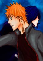I feel you - IchiRuki - Color by Erian-7