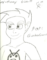 GunboyComic Contest pic by cmr-1990