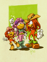camera :Knuckles family: by edtropolis