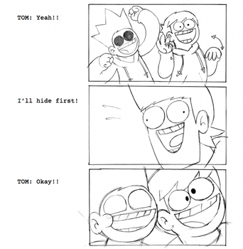 Storyboarding for Animationing for Eddsworld by Knitti