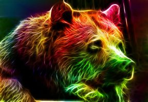 Fractalius Bear by minimoo64