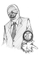20th Century Boys_Sketch by gogoflamingo