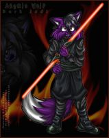 Angelo Wolf - Dark Jedi by violetomega