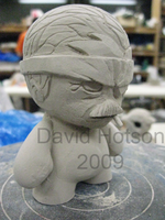 Old Snake Munny by Pheonix-Down
