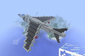 Minecraft Harrier by pnClaudiu