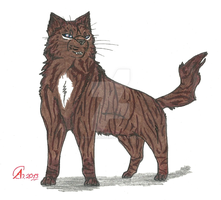 Warrior Cats- Hawkfrost design by spiritdaughter
