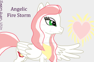 Fire Storm Angelic...FINALLY by lcponymerch