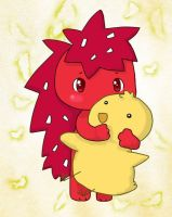 Flaky and Chick XD by PuppyLuv-1994