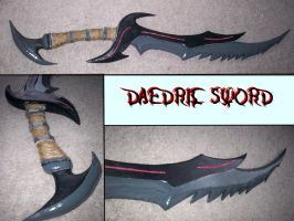 Wooden Deadric Sword: Painted Version by TwilightXaldin14