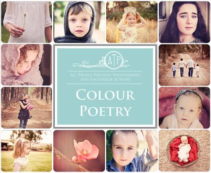 Colour Poetry Photoshop Actions by AllThingsPrecious
