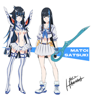 Birth Swap - Matoi Satsuki by Not-a-Hazard