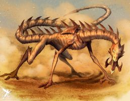 Sand Dragon by jslewis