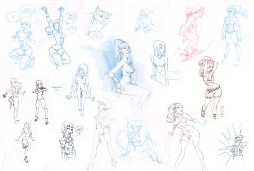 Sketches leftover by joslin