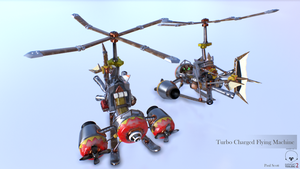 Turbo Charged Flying Machine Helicopter Mode by pasco295