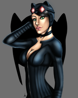 Catwoman by MissMinority