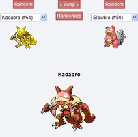 Pokemon Fusion: Kadabro by SecminourTheThird