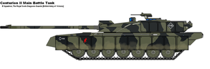 Centurion II MBT by PaintFan08