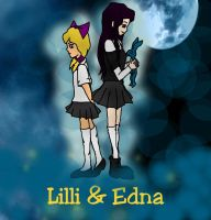 Lilli und Edna by DemonBarberLucy