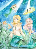 Mermaids by Malinya