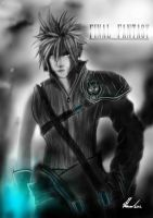 Cloud Final Fantasy VII by AfflictionArt