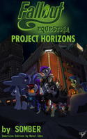 Fallout: Equestria Project Horizons Vertical Cover by MLP-NovelIdea