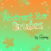 abstract_star_brushes by Galleasy