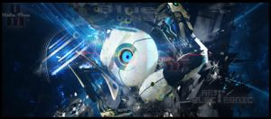 deep space robot (sig) By midovlan by Mido-Vlan