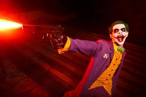 The Joker: Shoot the bat! by Chaves87