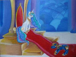 Celestia's Throne Room by aprilj0313
