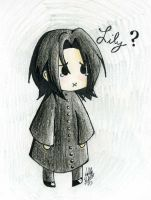 Chibi Snape by blackpassionninja101