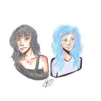 Sisters in Sadness by jennu-bean