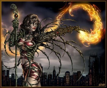 Witchblade_ by Candra