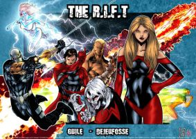 R.I.F.T. Assault team litho... by SpiderGuile