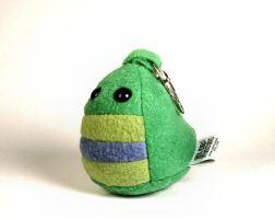 Uber Mini Spike the Dino Key Chain Plushie by Saint-Angel